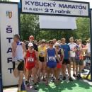 37. Kysucký maratón vyhral Jiří Žák a Eva Seidlová polmaratón Branislav Šarkan a Martina Bábelová
