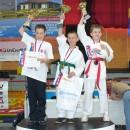 Na Majstrovstvách SR v karate mládeže medailovo Pončka i Hudec