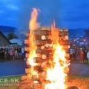 Video: Aj na Rínku sv. Michala Archanjela v obci Stará Bystrica horela vatra zvrchovanosti