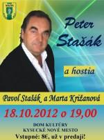 Pavol Stašák a Marta Križanová vystúpia už čoskoro