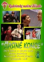 Šťastné konce Radošinského naivného divadla si môžete pozrieť v Kysuckom Novom Meste