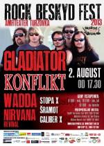 Rock Beskyd Fest 2013 - 2. august - amfiteáter Turzovka