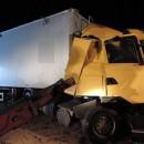 Pri zrážke kamiónov vyhasol život 33 ročného vodiča z Poľska