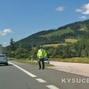 Polícia upozorňuje na uzávierku cesty I/11 vKrásne nad Kysucou, Dunajove aKysuckom Lieskovci