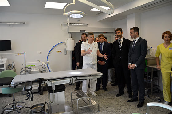 V Kysuckej nemocnici v Čadci otvoril urgentný príjem minister zdravotníctva Tomáš Drucker