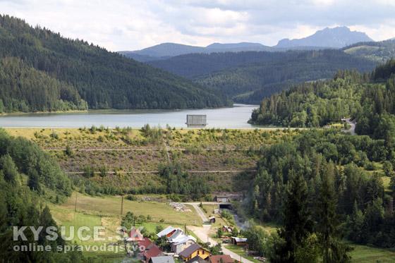 Dostatok pitnej vody na Kysuciach zabezpečuje cca 30 miliónov m3 vody z Vodnej nádrže Nová Bystrica