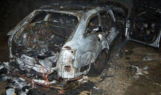 V zhorenom aute na Zákopčí našli mŕtvolu, príčinu smrti určí pitva