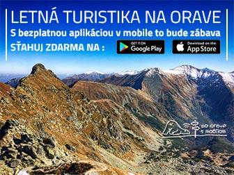 Staihnute si bezplatnú mobilnú aplikáciu -  Turistický sprievodca po Orave s Mobilom